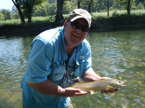 Fly fishing the niangua river missouri for Trout fishing in missouri